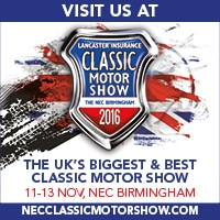 The Lancaster Insurance Classic Motor Show 2016