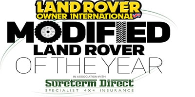 Modified Land Rover of the Year competition